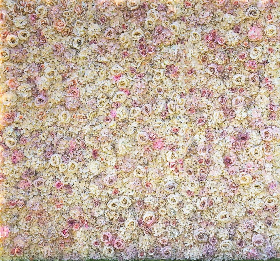 gisele flower wall theme