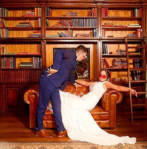 Wedding in Gabbinbar Homesteads library.