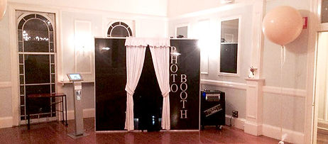 Enclosed Photo Booth in the Ball room at
