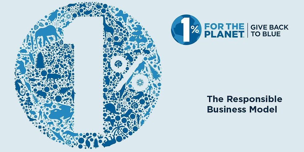 1% for the Planet - the Responsible Business Model