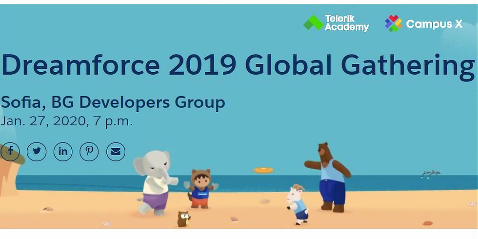 Dreamforce 2019 Global Gathering