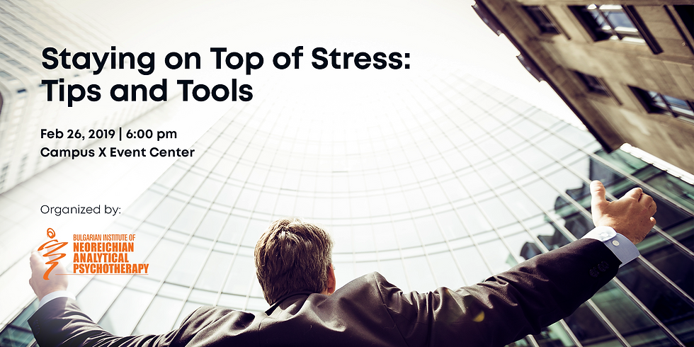 Staying on Top of Stress: Tips and Tools