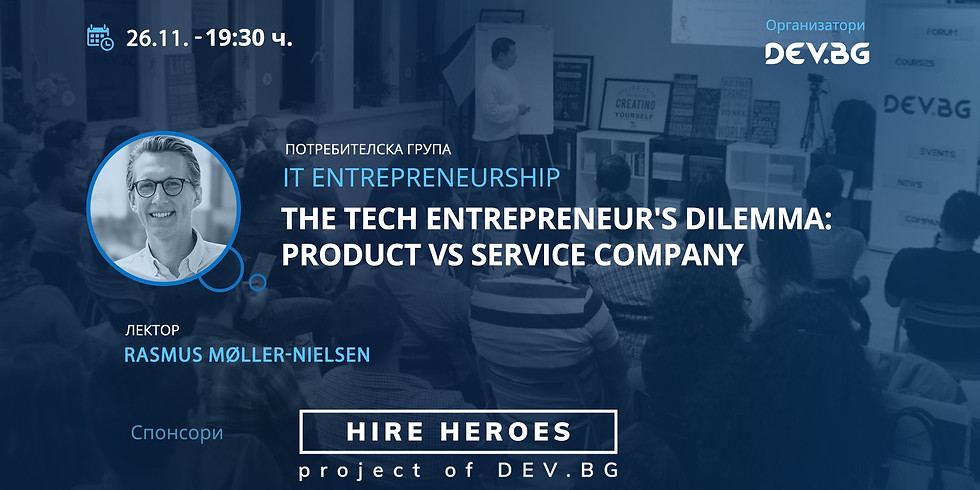 The Tech Entrepreneur's Dilemma: Product vs Service Company