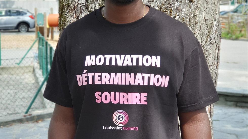 Le t-shirt officiel de la Team Louissaint !