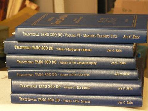Traditional Tang Soo Do Books 1-5