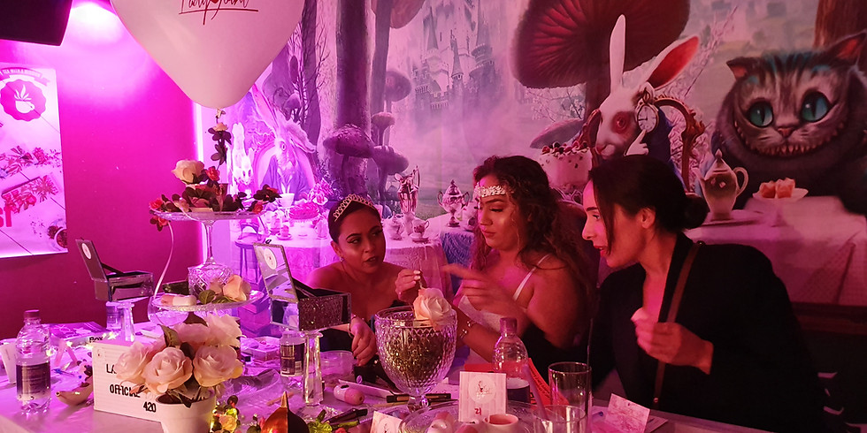 THE CANNABLISS EXPERIENCE - High Tea Party in Wonderland