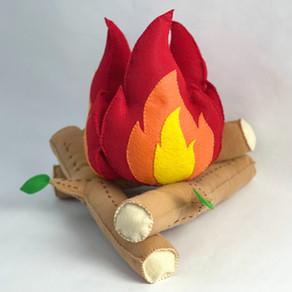 Felt Play Campfire