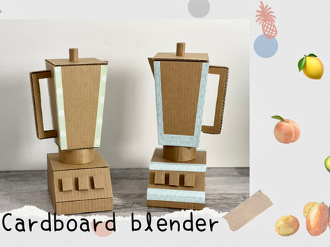 DIY Cardboard Blender