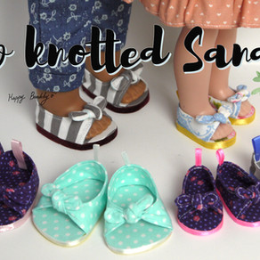Bow knotted Sandals