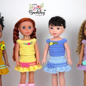 Crochet Basic Top for 14inch dolls