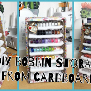 DIY Bobbin storage