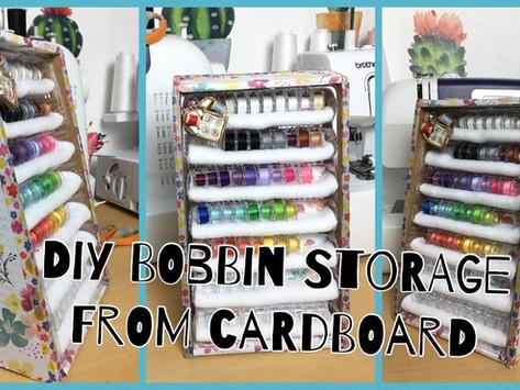 DIY Bobbin storage
