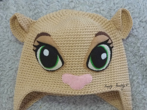 Crochet Nala Lion King