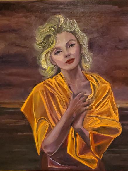 Blondy (2020) Oil on Canvas 90 cm x 90 cm.jpg