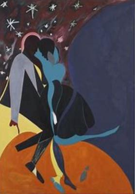 """Malick Sidibe """"Nuit de Noel', 1963, photograph"""