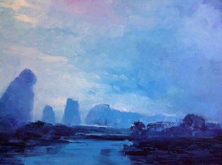 Asian Landscape I