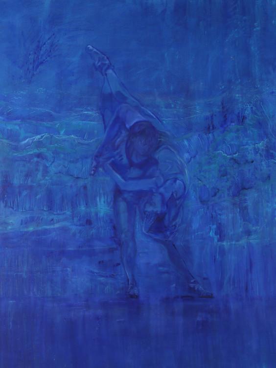Trust, (2019), Oil on Canvas, 190 cm x 160 cm