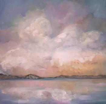 Stillness (2017) Oil on Canvas 100cmx100cm