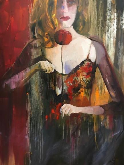Travesty, Oil on Canvas, 120 cm x 100 cm