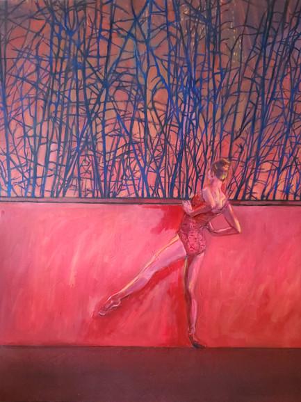 Isolations (2020) Oil on Canvas 150cm x 130 cm