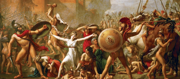 The Intervention of the Sabine Women (17
