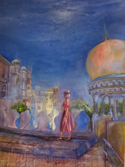 Daria (2020) Oil on Canvas 120 cm x 90 cm