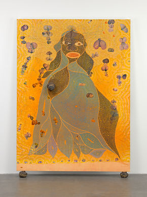 Chris_Ofili,_'The_Holy_Virgin_Mary',_199