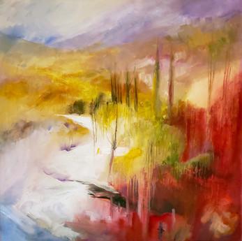 Toscana (2017) Oil on Canvas 60cmx60cm