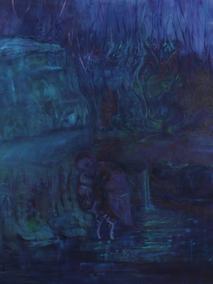 Ballad of a Ballerina, (2019), Oil on Canvas, 190 cm x 160 cm