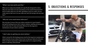 Objections and responses from ideal customer avatar