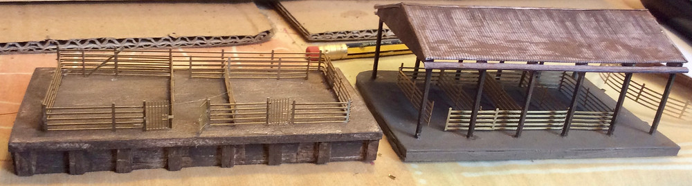 Large cattle dock and undercover market