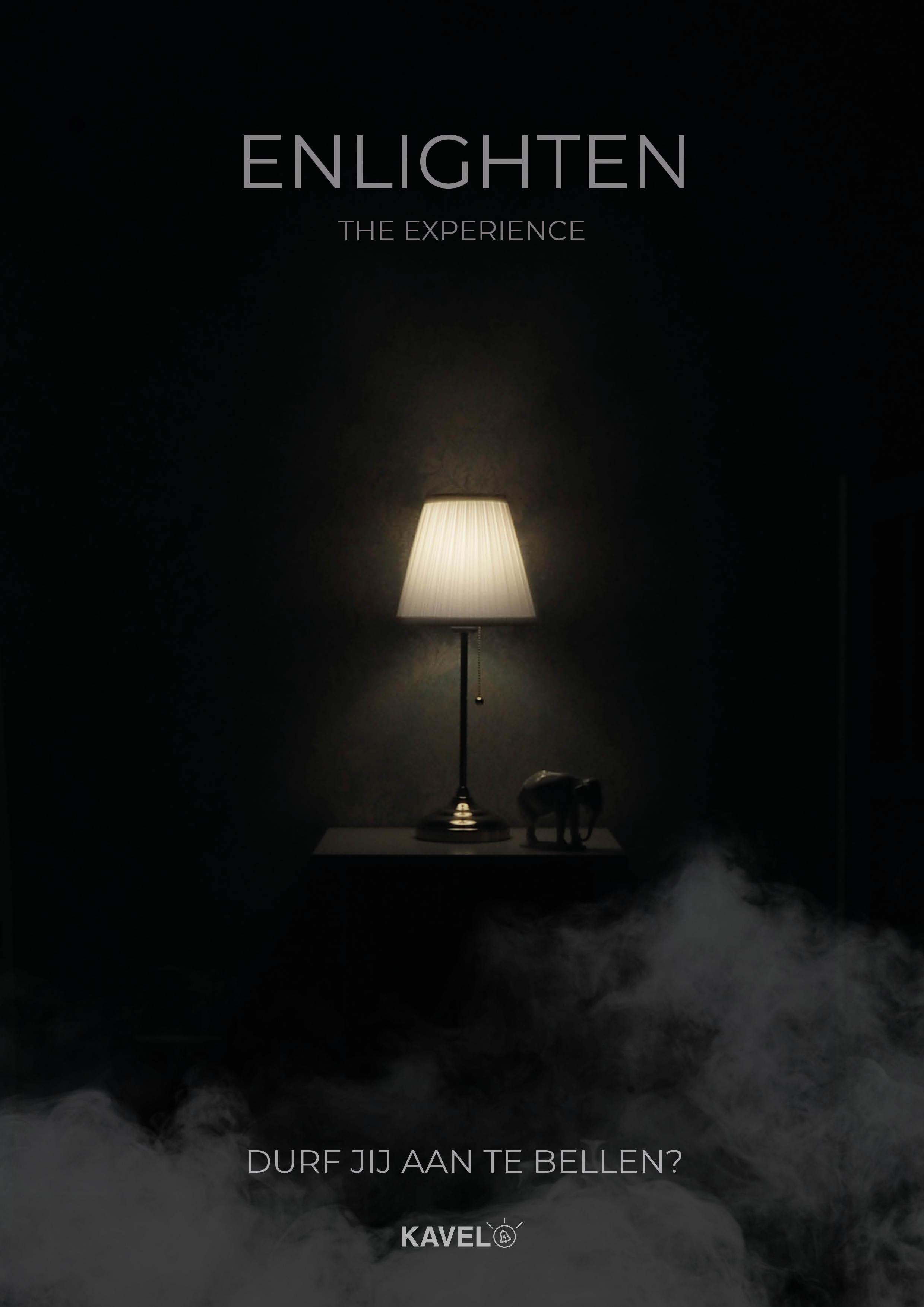 Poster voor de escape room