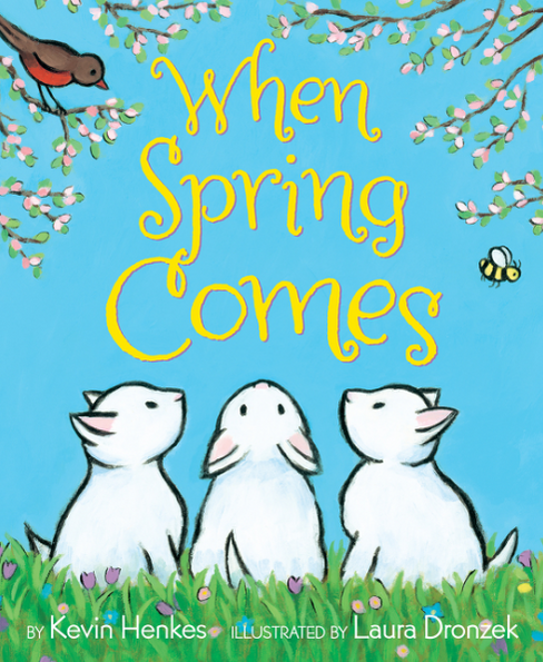 A New-to-Us Author + Spring Books for Preschoolers