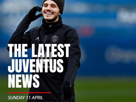 THE LATEST JUVENTUS NEWS - SUNDAY 11 APRIL