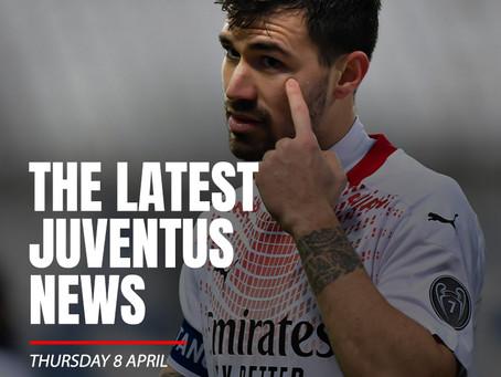 THE LATEST JUVENTUS NEWS - THURSDAY 8 APRIL