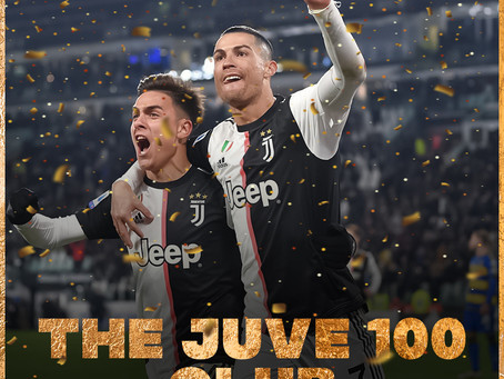 """RONALDO AND DYBALA LOOKING TO JOIN THE """"100 CLUB"""""""