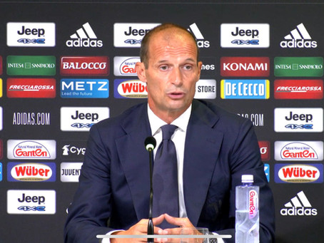 ALLEGRI TALKS FOR THE FIRST TIME