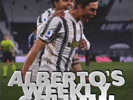 ALBERTO'S WEEKLY COLUMN - WEEK 14