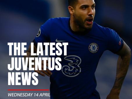 THE LATEST JUVENTUS NEWS - WEDNESDAY 14 APRIL