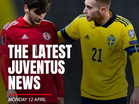 THE LATEST JUVENTUS NEWS - MONDAY 12 APRIL