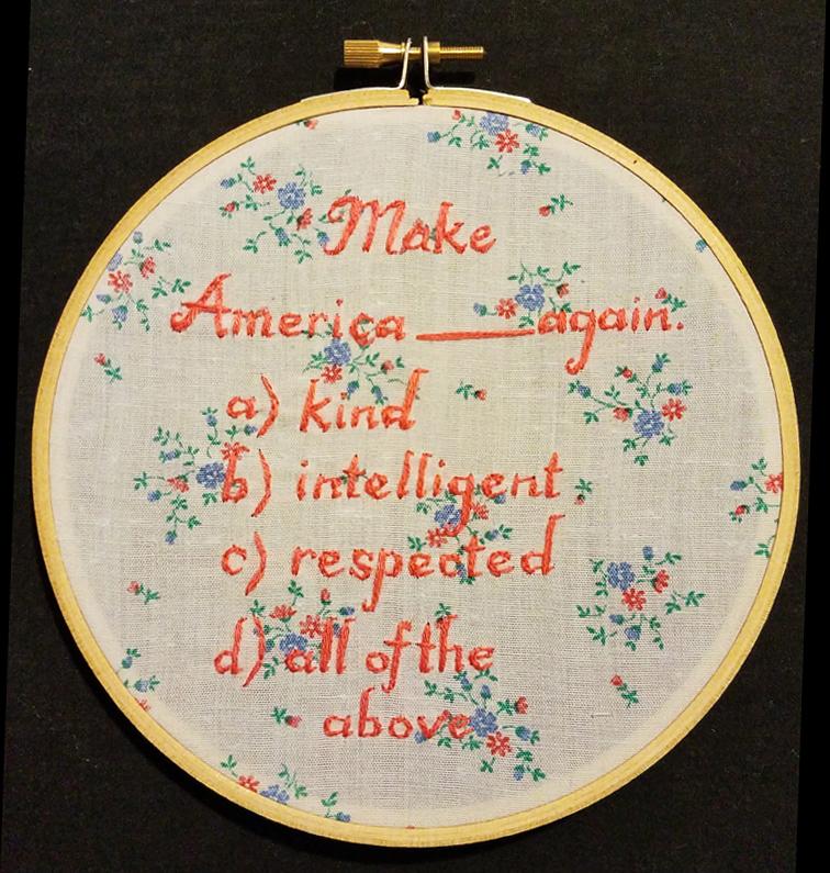 Make America____Again