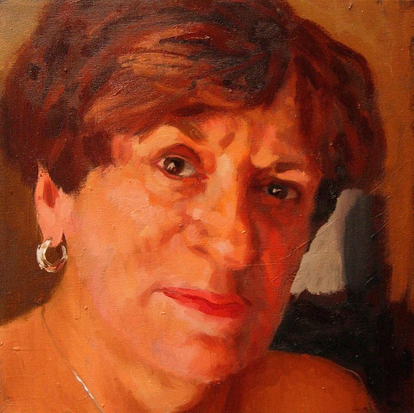 Carole face, sm
