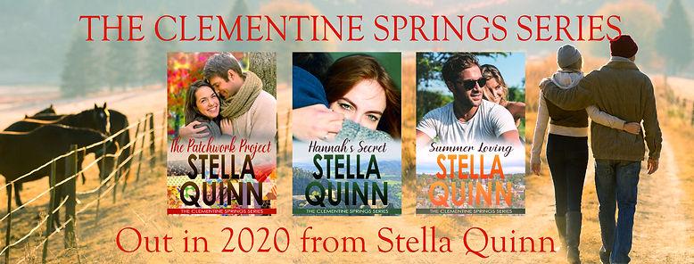 Clementine Springs series banner - 2020