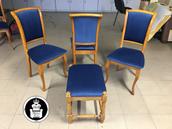 Kėdės ir pufas