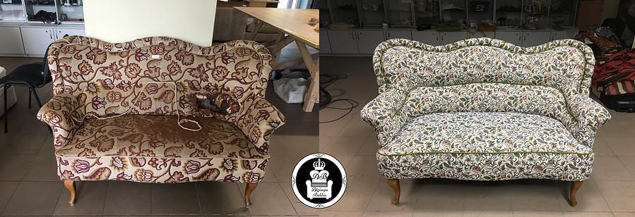 Vintažinė sofa