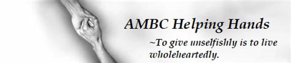 AMBC Helping Hand Banner