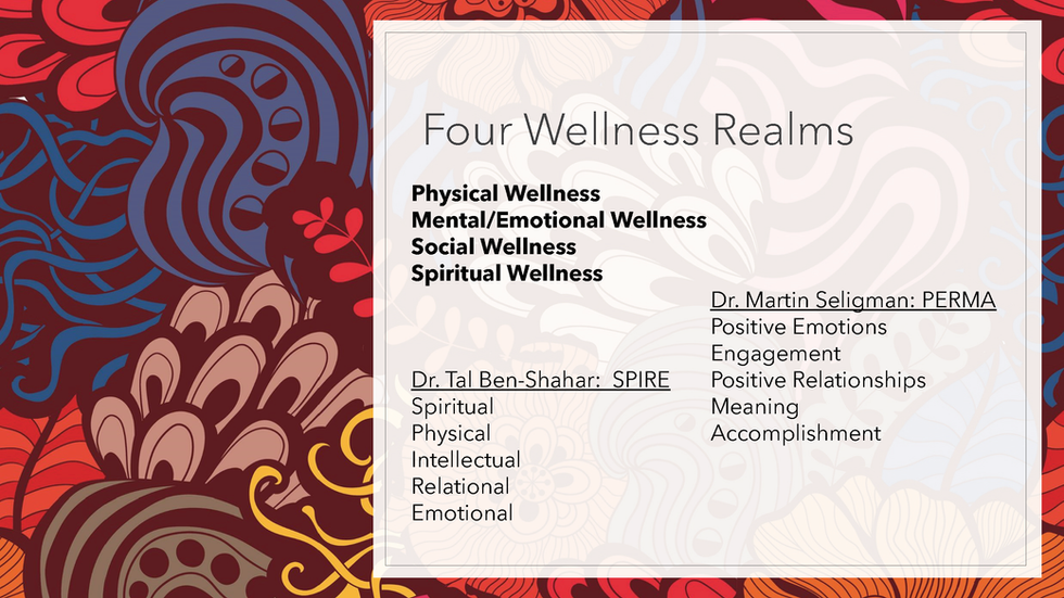 Wellness Framework