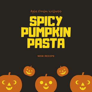 Spicy Pumpkin Pasta