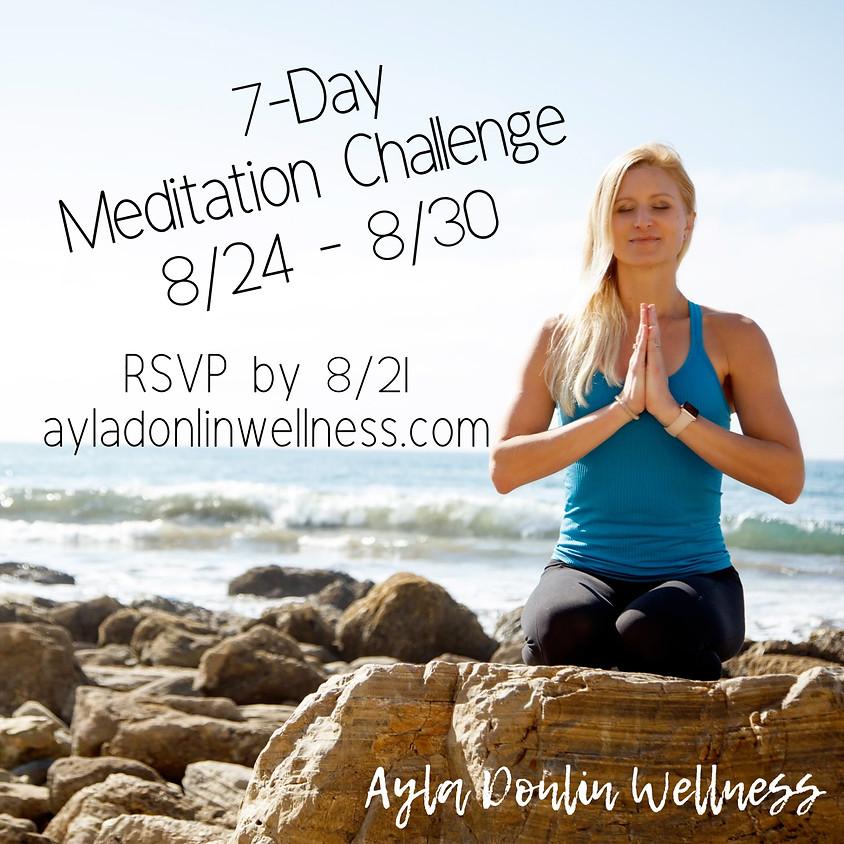 7-Day Meditation Challenge