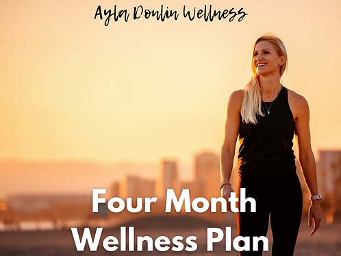 Four Month Wellness Plan